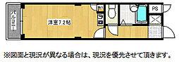JOYハウス城西[3A号室]の間取り