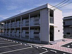 広島県福山市本郷町の賃貸アパートの外観