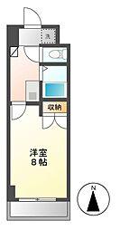 シティライフ名駅(竹橋町)[8階]の間取り