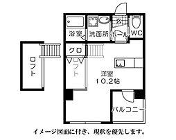 グランドポレストーネ富士見町[602号室]の間取り