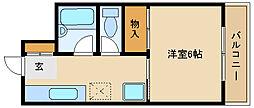 アメニティー塚口[2階]の間取り