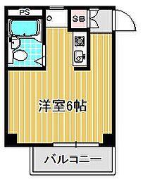 神奈川県川崎市幸区南加瀬3丁目の賃貸マンションの間取り
