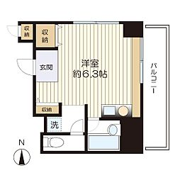 マ・メゾン三田[101号室]の間取り