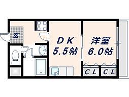 ハーモニー[2階]の間取り