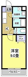 エコパビュー[4階]の間取り