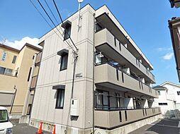 埼玉県越谷市赤山町1丁目の賃貸アパートの外観