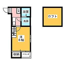MIA CASA[1階]の間取り