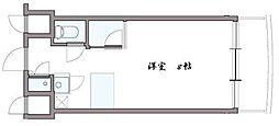 創空KYUTARO[3階]の間取り