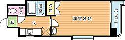 SKcity八幡(エスケイシティ八幡)[11階]の間取り