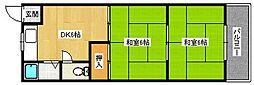マンション浜田[116号室]の間取り
