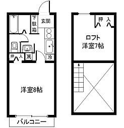 Matrix-k[3階]の間取り