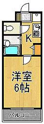 キングガーデン[2階]の間取り