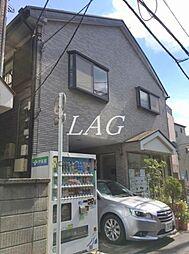東京都板橋区上板橋1丁目の賃貸アパートの外観
