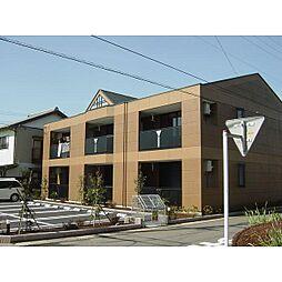 静岡県焼津市八楠の賃貸マンションの外観