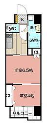 REGARIA KOKURAKITA CENTER PLACE[10階]の間取り
