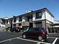 京都府京都市西京区川島権田町の賃貸アパートの外観