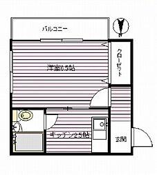 グリーンハイム 幡ヶ谷4分 駅・商店街至近 ペットと一緒に暮[1階]の間取り
