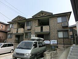 愛知県名古屋市緑区東神の倉1の賃貸アパートの外観