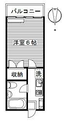 ジョイフル貝沢[2204.2102号室]の間取り