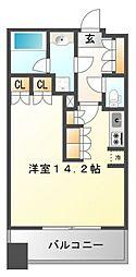 アパートメンツ江坂(旧パークアクシス江坂豊津町)[8階]の間取り