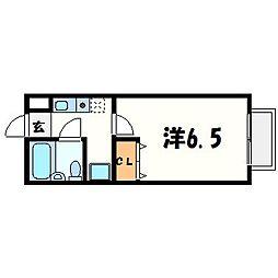 池住マンション[2階]の間取り