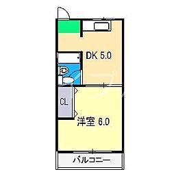 SAKURAハイツ[2階]の間取り