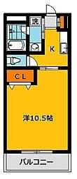 エルハイツ川田[5階]の間取り