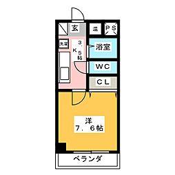 スターマンション[1階]の間取り