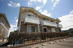 福岡県北九州市小倉南区長行東3丁目の賃貸アパートの外観