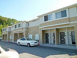 滋賀県栗東市上砥山の賃貸アパートの外観