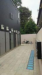 東京都大田区田園調布南の賃貸アパートの外観