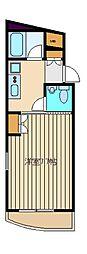 ライブコア大泉学園[2階]の間取り