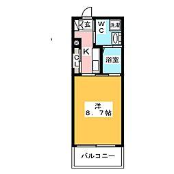 サヴォイオーサーズプレイス[15階]の間取り