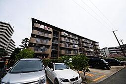 山田西B団地A16棟[1階]の外観
