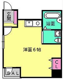 OBCマンション[3階]の間取り