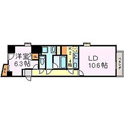 センチュリー富士見[4階]の間取り