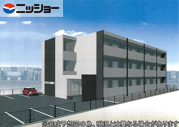 仮)伊藤様ルネスマンション[3階]の外観