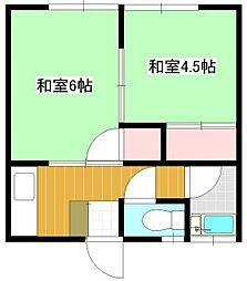 シナダハウス[2階]の間取り