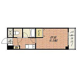 美穂が丘坂田ハイツ[2階]の間取り