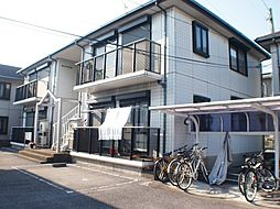 栃木県宇都宮市若草3丁目の賃貸アパートの外観
