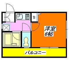 セカンド・アベニール 302号室[3階]の間取り