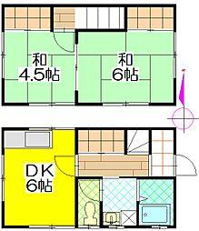 [一戸建] 茨城県守谷市本町 の賃貸【/】の間取り