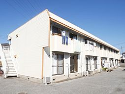 埼玉県越谷市大字大里の賃貸アパートの外観