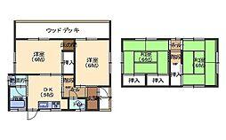 [一戸建] 広島県広島市西区井口2丁目 の賃貸【/】の間取り