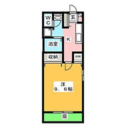 View姫見台[1階]の間取り