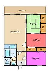 三京ビル[805号室]の外観