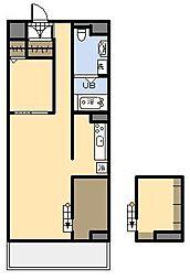 (新築)AKH K[2階]の間取り