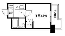 ハイシティ横浜元町[6階]の間取り