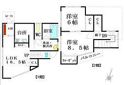 [一戸建] 青森県三沢市平畑2丁目 の賃貸【/】の間取り