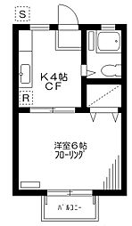 SUN・CITY[2階]の間取り